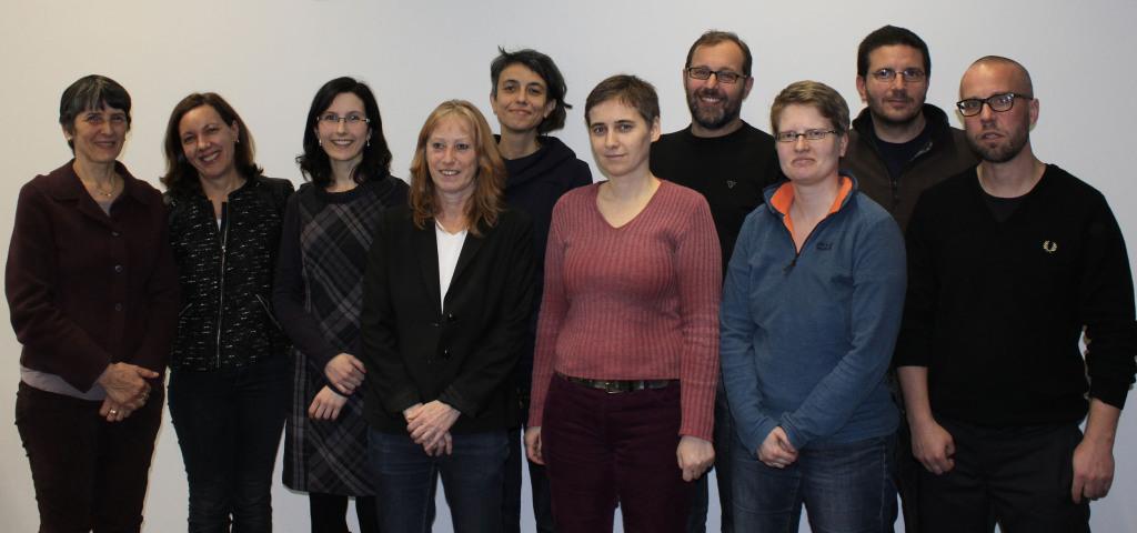 Gruppenfoto vom 2. Treffen